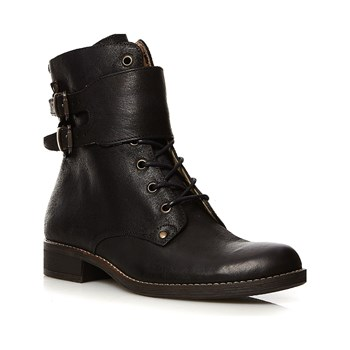 Kickers - Smile - Bottines en cuir - noir
