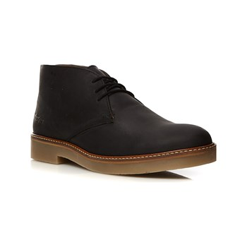 Kickers - Oxfly - Bottines en cuir - noir