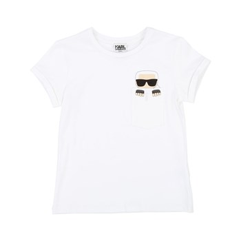 Karl Lagerfeld - T-shirt manches courtes - blanc