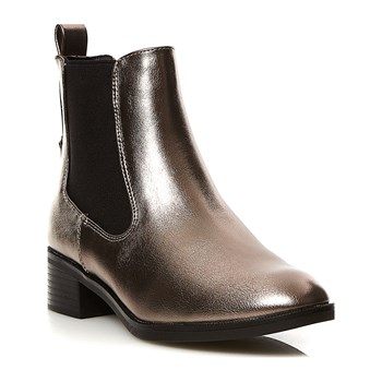 Only - Booties - zilver