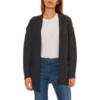 Vero Moda - No name - Strickjacke - dunkelgrau
