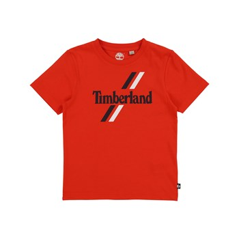 T-SHIRT MANCHES COURTES - ROUGE Timberland