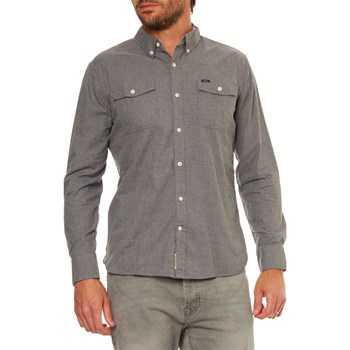 Pepe Jeans London - Loweswater - Chemise manches longues - gris