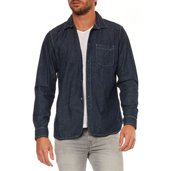 Pepe Jeans London - Clement - Jeanshemd - marineblau