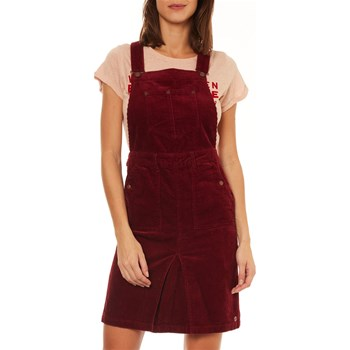 Pepe Jeans London - Shirley - Vestito a salopette - bordeaux