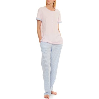 Triumph - Sporty Stripes - Pyjama - rosa