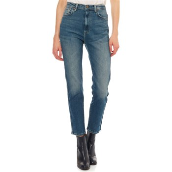 Pepe Jeans London - Betty - Jean mom - azul jean
