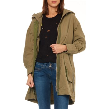 Pepe Jeans London - Sia - Cappotto - kaki