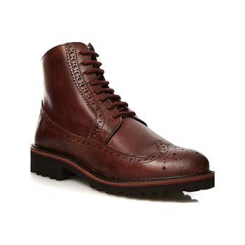 Kickers - Rumba - Bottines en cuir - marron