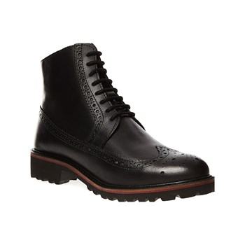 Kickers - Rumba - Bottines en cuir - noir