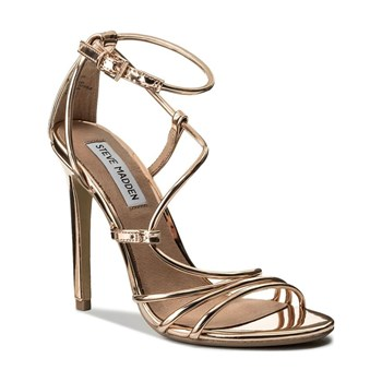 Steve Madden - Smith - Sandales à talon - or