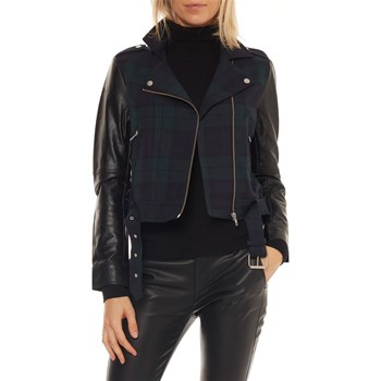 On you - Veste biker - bleu foncé