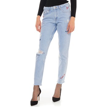 Pepe Jeans London - Heidi Scribble - Jean recto - azul jean