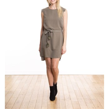 LPB Woman - Asymmetrisches Kleid - khaki