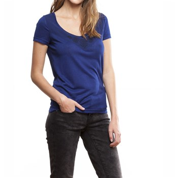 LPB Woman - Kurzärmeliges T-Shirt - blau