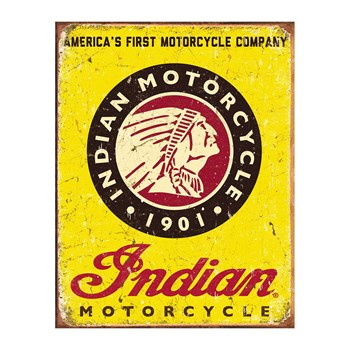 Editions Clouet - Indian Motorcycles - Bord - geel