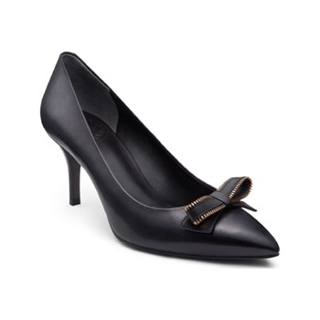 What For - Alsina - Leren pumps - zwart