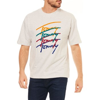 Tommy Jeans - T-shirt manches courtes - bruyère