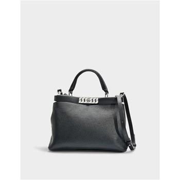 Hugo Boss - Veronika - Sac à main en cuir - noir