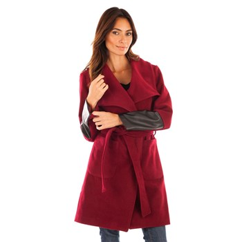 Claudia Fabri - Manteau - bordeaux