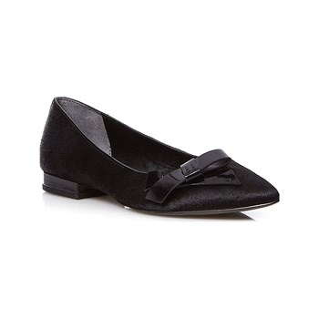 What For - Ballerines en cuir - noir