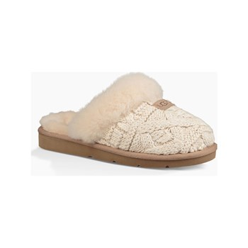 Ugg - Cozy Cable - Chaussons - beige