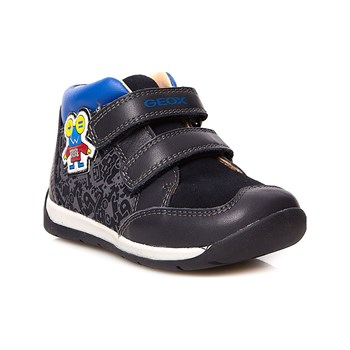 Geox - B Each Boy C - Ledersneakers - marineblau