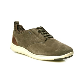 Geox - U Xunday 2Fit A - Baskets empiècements cuir - taupe