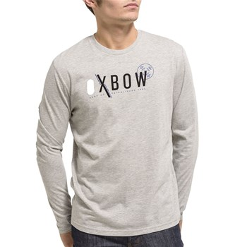 Oxbow - Torik - T-shirt manches longues - gris chine