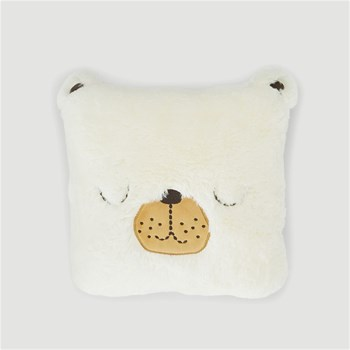 Bout'Chou - Coussin ours - beige