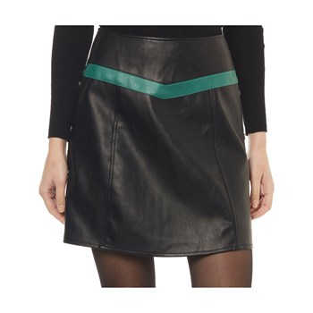 Vero Moda - Contrast - Gonna svasata - nero