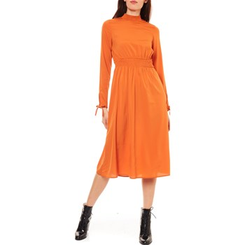 Vero Moda - Toscana - Robe longue - orange