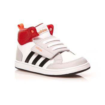 adidas Performance - Hoops CMF MID INF - Sneaker alte - bianco