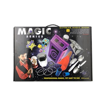 Jimmy's Toys - The black - Coffret 20 tours de magie Deluxe - noir
