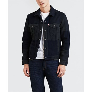 Levi's - Giacca in jeans - blu scuro