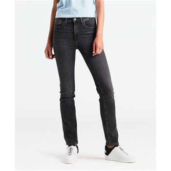 Levi's - 724 - Jean slim high rise straight - noir