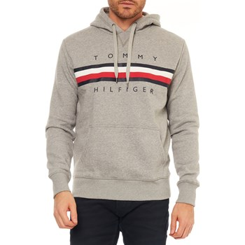 Tommy Hilfiger - Sweat à capuche - gris clair