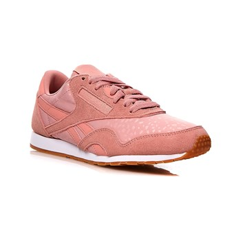 Reebok Classics - CL nylon slim TXT - Baskets en cuir - rose