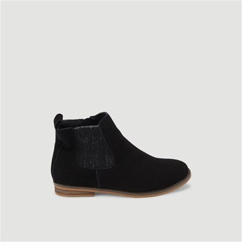 Monoprix Kids - Bottines en cuir - noir
