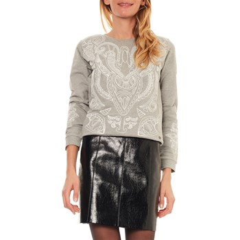 Kaporal - Sweat-shirt brodé - gris