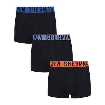 Ben Sherman - Graham - 3 boxer - nero