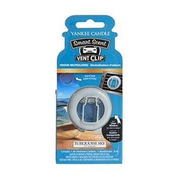 Yankee Candle - Ciel Turquoise - Duftstab Vent Stick - weiß