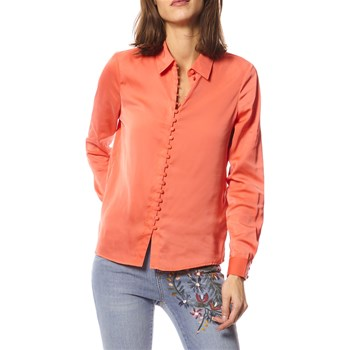 Noisy May - Chella - Camisa de manga larga - coral