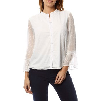 Only - Camisa de manga larga - blanco