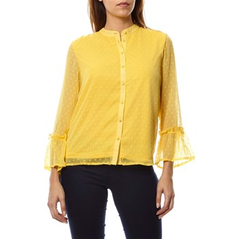 Only - Camisa de manga larga - amarillo