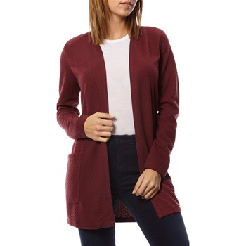 Only - Cardigan - bordeaux