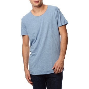 Jack & Jones - T-shirt, korte mouw - washed blauw