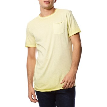 Jack & Jones - T-shirt, korte mouw - geel