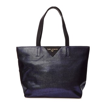 LPB Woman - Shopping Bag - blau