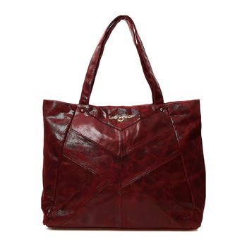 LPB Woman - Shopping Bag - bordeauxrot
